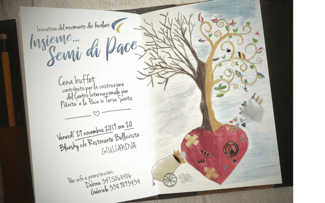 """""""Together …Seeds of Peace"""""""
